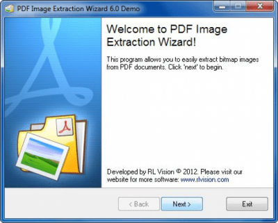 PDF Image Extraction Wizard 6.32