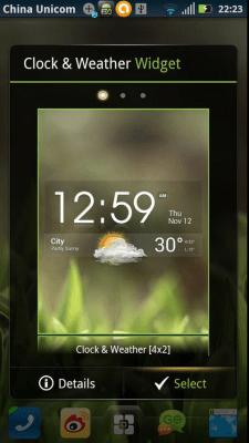EZ Clock & Weather Widget v1.9.6