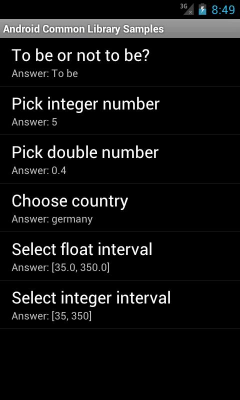 Android Common Library 1.0.0