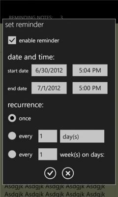 Reminding Notes 2.3.1.0