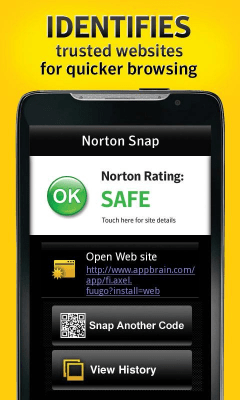 Norton Snap QR Code Reader 2.0.0.71