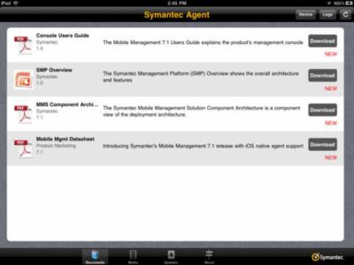 Symantec Mobile Management Agent 1.10