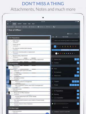 Organize:Pro LE for iPad 4.9.35