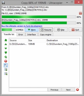 Ultracopier Free 1.4.1.3