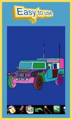 Раскраска - автомобили 24