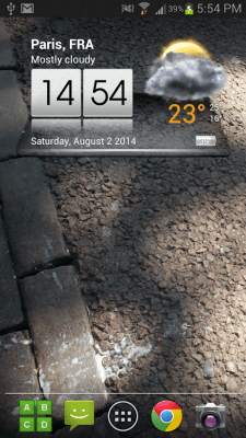 3D Sense Clock & Weather 4.91.10