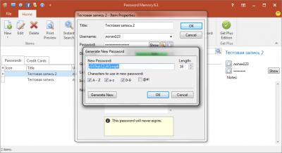 Password Memory 7.0.1