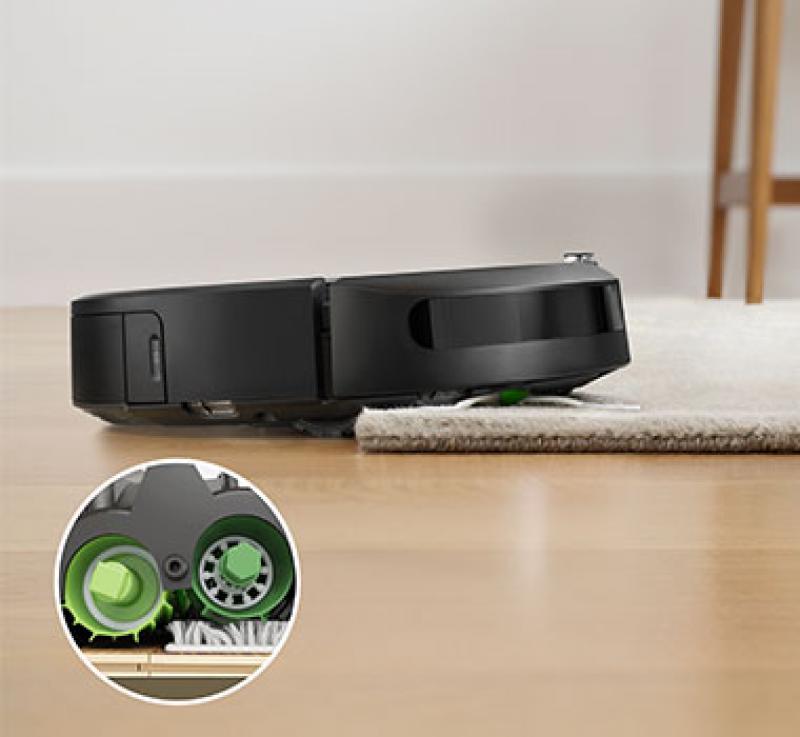 iRobot Roomba e5 в работе