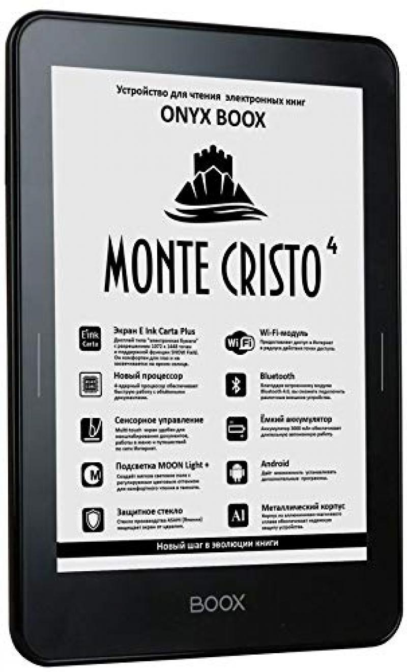 Букридер ONYX BOOX Monte Cristo 4