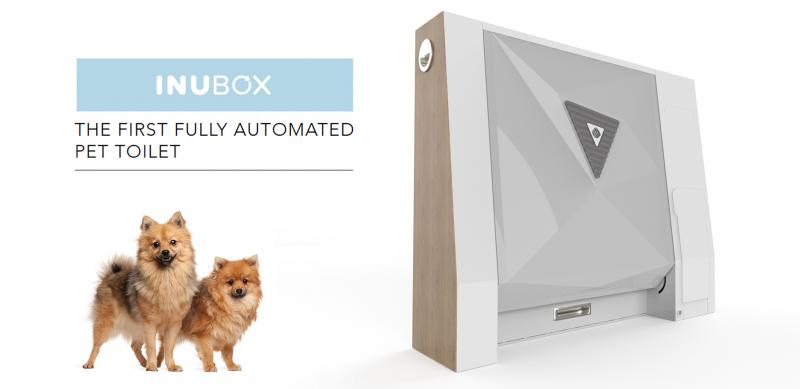Inubox автоматический туалет для собак