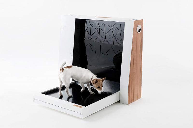 Newtons Box автоматический туалет для собак