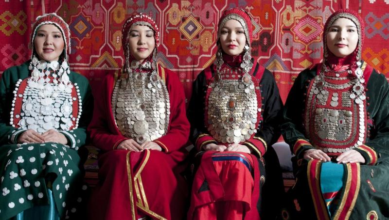 Исторические костюмы башкирского народа