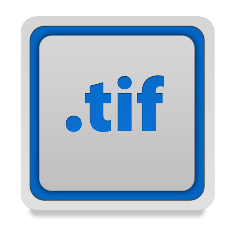 как открыть формат tif