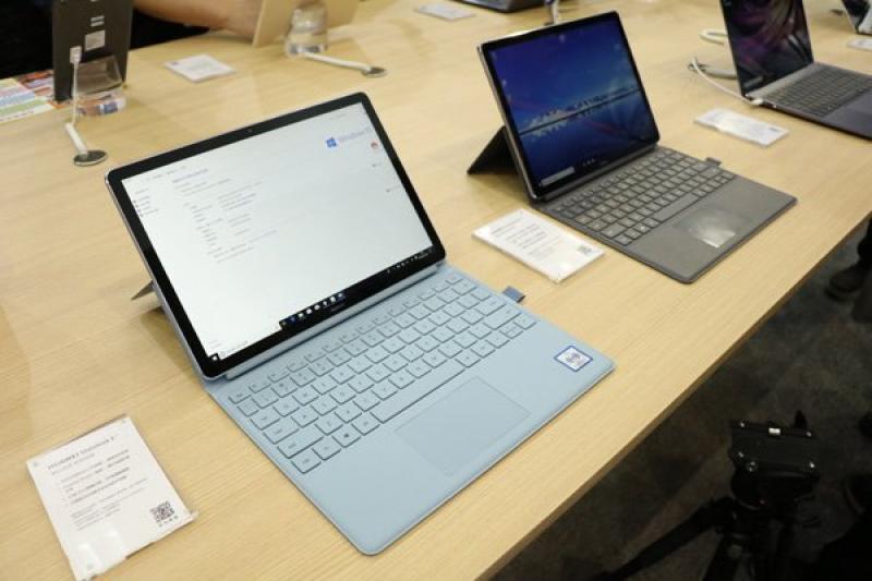 Huawei Matebook E 2019: ноутбук на Snapdragon 850 с Windows 10 внутри
