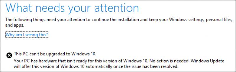 Внешние USB-устройства и SD-диски не дают Windows 10 установиться