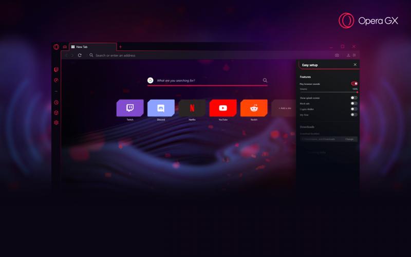 Opera GX браузер для геймеров