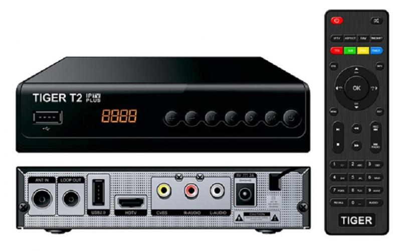 Цифровой эфирный тюнер Tiger T2 IPTV: обзор и прошивка