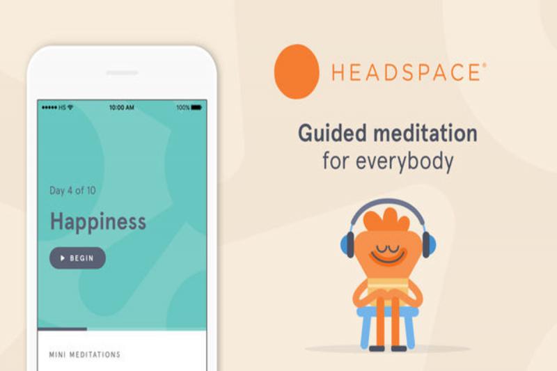 Headspace - приложение для медитации